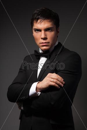 Классический деловой мужской портрет