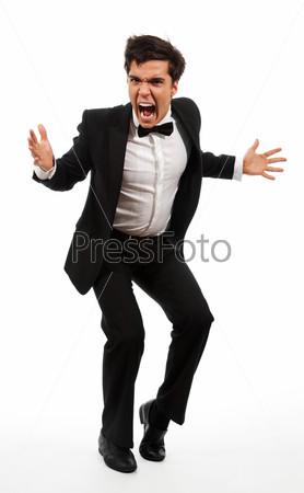 Фотография на тему Злой деловой мужчина