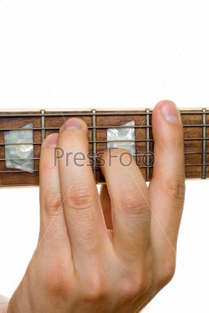 Фотография на тему Игра на гитаре
