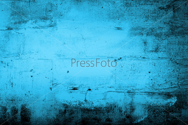 Синий гранж фон