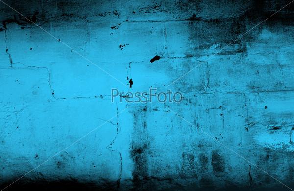 Фотография на тему Синий гранж фон