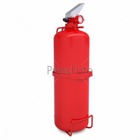 Красный огнетушитель
