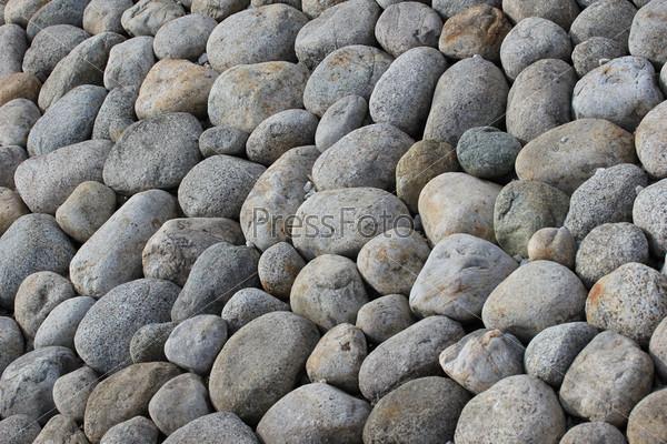 Фотография на тему Поверхность из круглых природных камней
