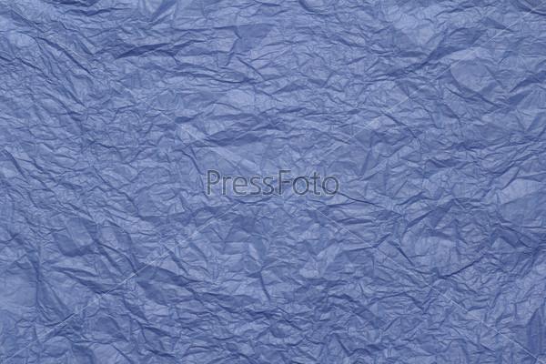 Текстура мятой цветной бумаги