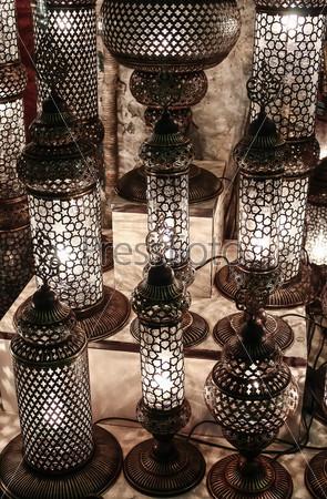 Турецкие лампы, Стамбул, Турция