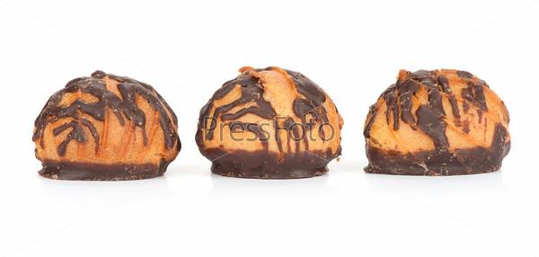 Вафли с шоколадом
