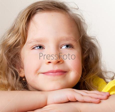 Фотография на тему Портрет счастливой девочки
