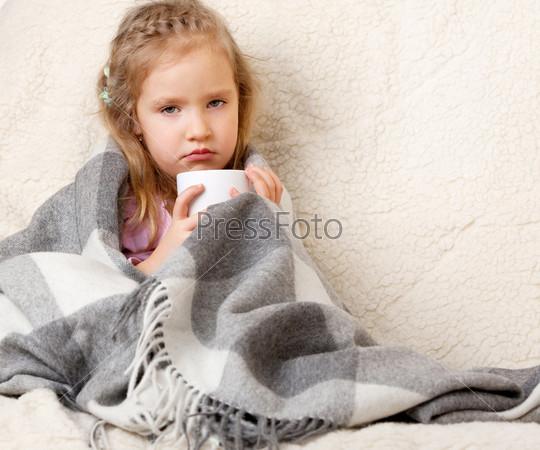 Портрет больной девочки