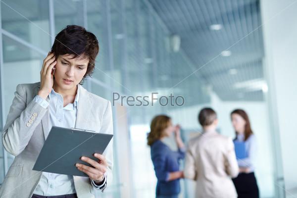 Фотография на тему Занятой работодатель