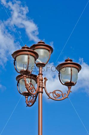 Фрагмент фонарного столба
