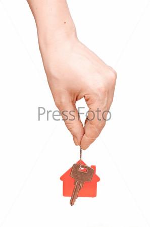 Фотография на тему Рука передает ключ от дома