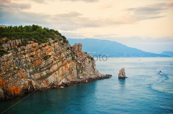 Красивый пейзаж, Крым