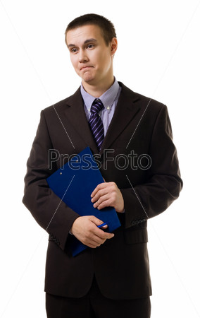 Деловой мужчина в костюме