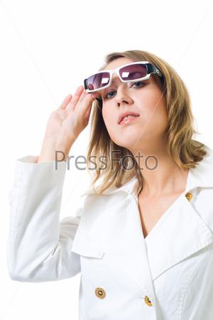 Фотография на тему Женщина в белом халате