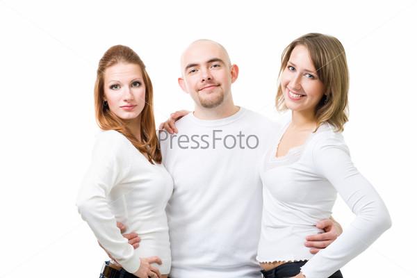 Фотография на тему Счастливые молодые люди