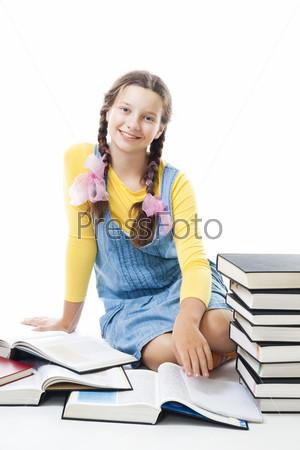 Фотография на тему Счастливая девочка-подросток