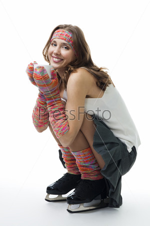 Фотография на тему Женщина на коньках