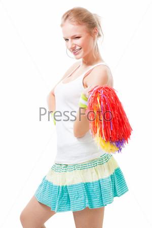 Веселая танцовщица
