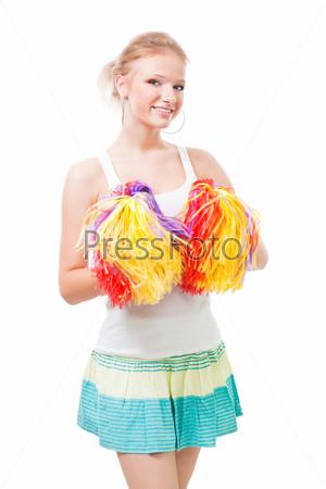 Фотография на тему Веселая танцовщица