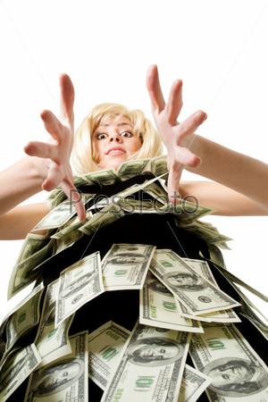 Фотография на тему Женщина и деньги