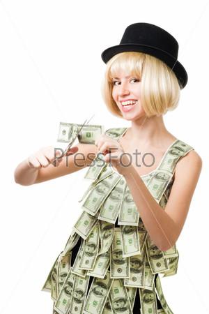 Фотография на тему Женщине не нужно больше денег