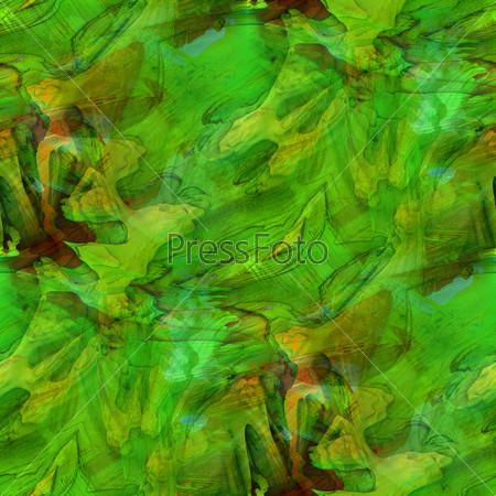 Бесшовный зеленый фон