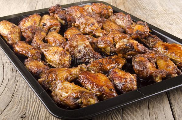Куриные крылышки из духовки