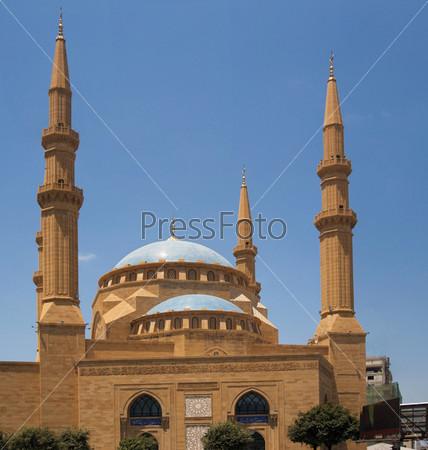Великолепная мечеть Мохаммеда Эль Амина, Бейрут, Ливан