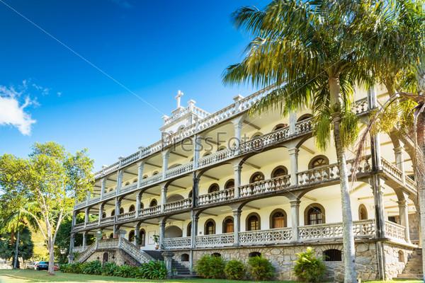 Ла Домус, место жительства духовенства Римско-католической паствы в штате Виктория, остров Маэ, Сейшельские острова