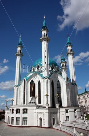 Фотография на тему Мечеть Кул Шариф в Казани. Россия, Республика Татарстан, Казань