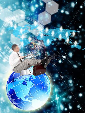 Фотография на тему Интернет. Электронный бизнес