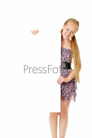 Фотография на тему Счастливая улыбающаяся девочка