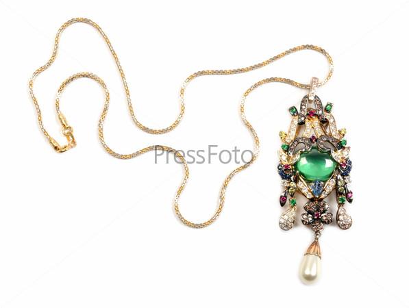 Фотография на тему Золотое ожерелье