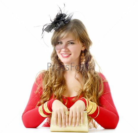 Фотография на тему Красный цвет и золото