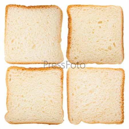 Ломтики свежего хлеба