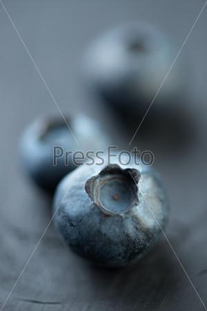 Фотография на тему Ягоды: черника, малая глубина резкости