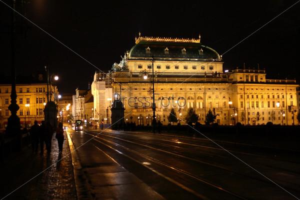 Фотография на тему Ночь в Праге