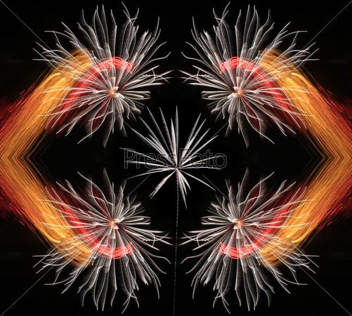 Праздничный фейерверк
