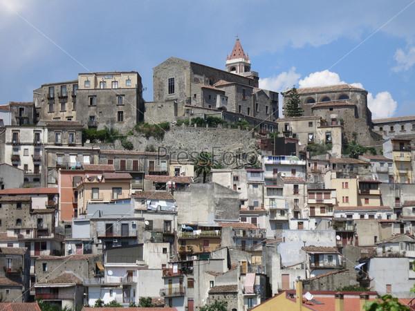 Город в Сицилии, Италия