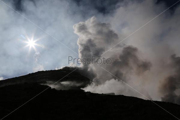 Фотография на тему Вулкан Этна на Сицилии