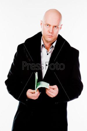 Фотография на тему Молодой и успешный деловой мужчина