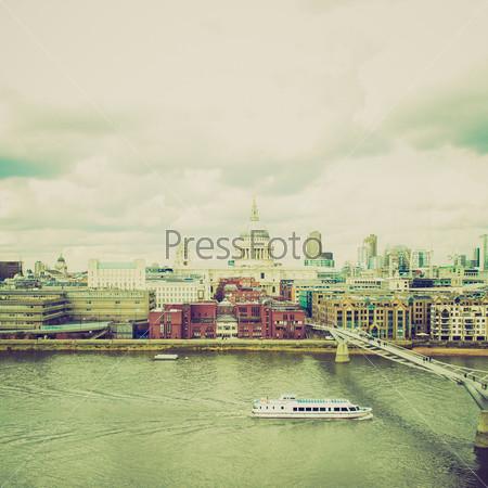 Фотография на тему Широкий угол, собор Святого Павла в городе Лондон, Великобритания