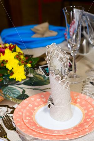 Фотография на тему Сервированный праздничный стол