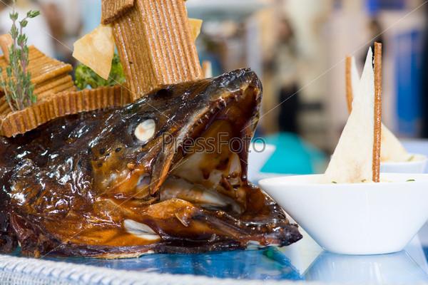 Горячее рыбное блюдо