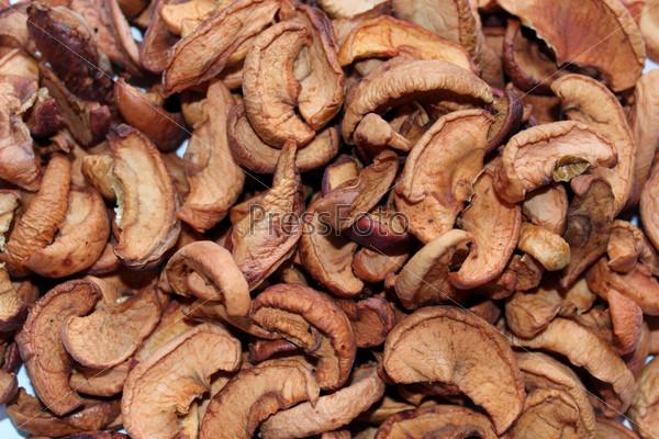 Фотография на тему Фон из кусочков сушеных яблок