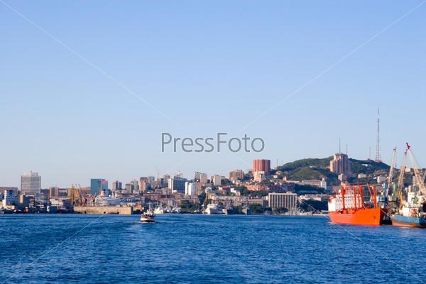 Фотография на тему Россия. Порт Владивосток