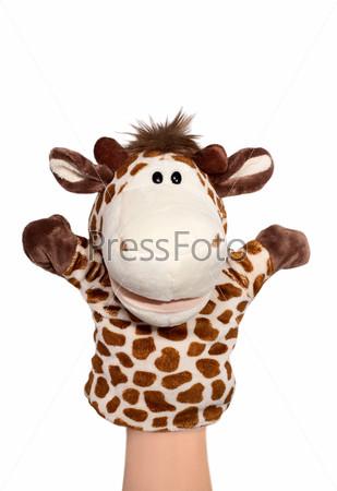 Фотография на тему Кукла зебра