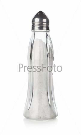 Стеклянная солонка