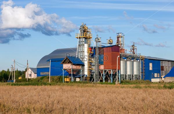 Фабрика переработки зерна