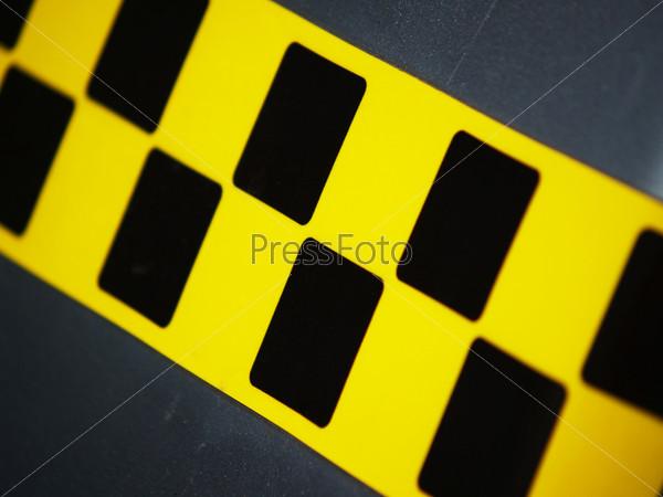 Значок такси на автомобиле